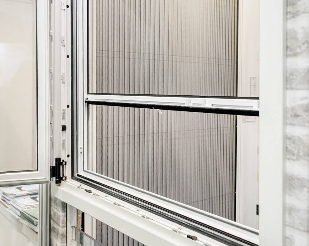 מפואר רשת גלילה לחלון | רשת נגד יתושים | רשת שקופה נגד יתושים SM-07